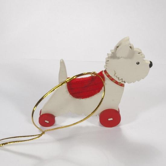 Елочная игрушка - Вестик 1013 Red Blanket
