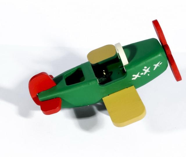 Маленькая елочная игрушка: Самолет Моноплан 6029
