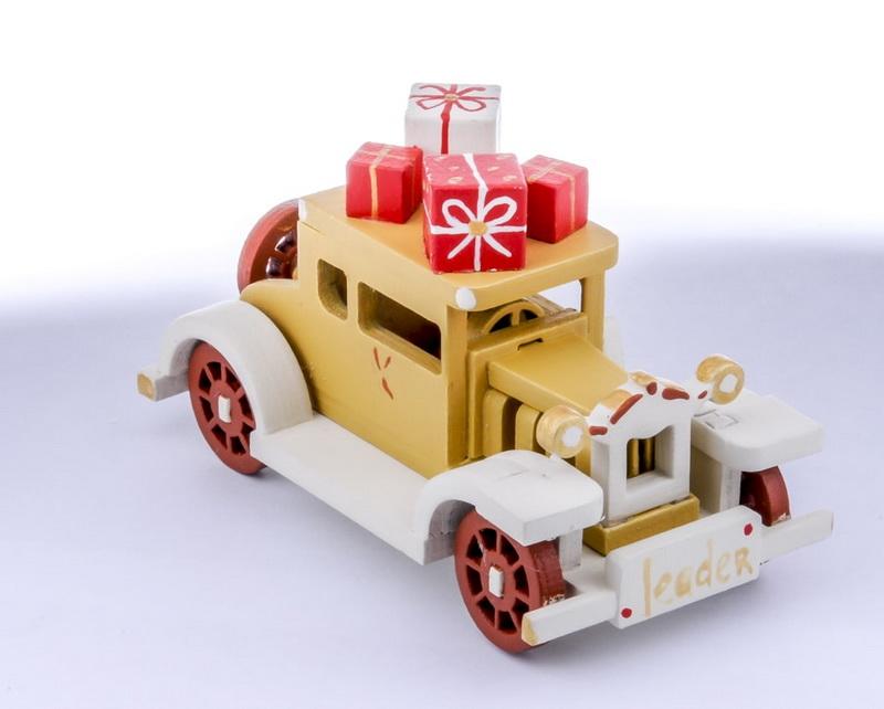 Елочная игрушка, сувенир - Машинка легковая 290-3