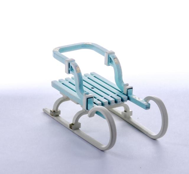 Елочная игрушка - Санки Большие 56GG64-25804
