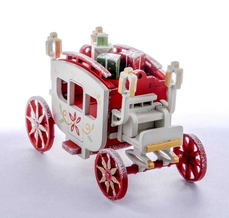 Карета крытая 3020 Red Classic