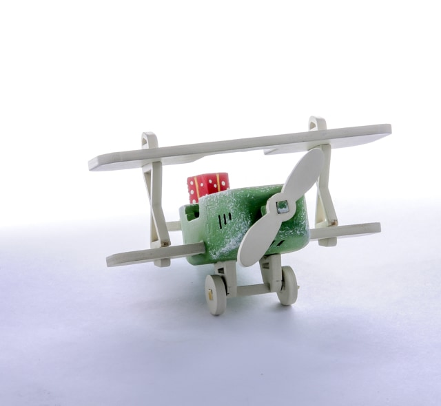 Самолет Биплан 6017 Classic