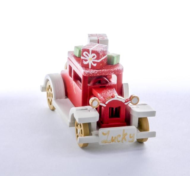 Елочная игрушка, сувенир - Машинка легковая 3020