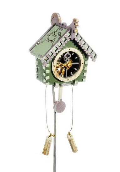 Новогоднее украшение для елки - Часы с маятником 6011
