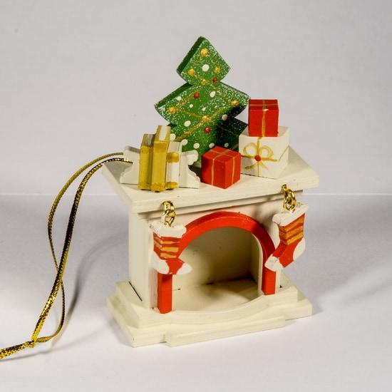 Елочная игрушка - Камин 1013 K Tree