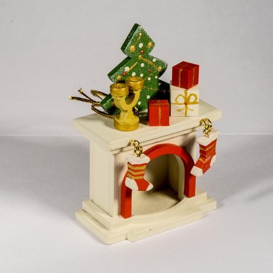 Елочная игрушка - Камин 1013 S Tree
