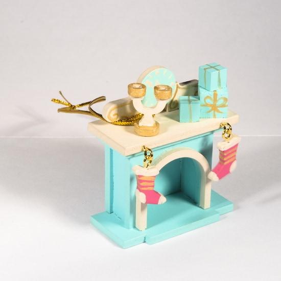 Елочная игрушка - Камин 56GG64-25804 S
