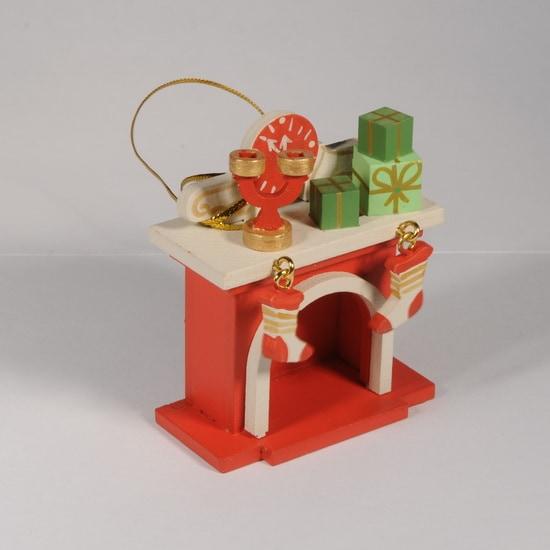 Елочная игрушка - Камин 3020 S