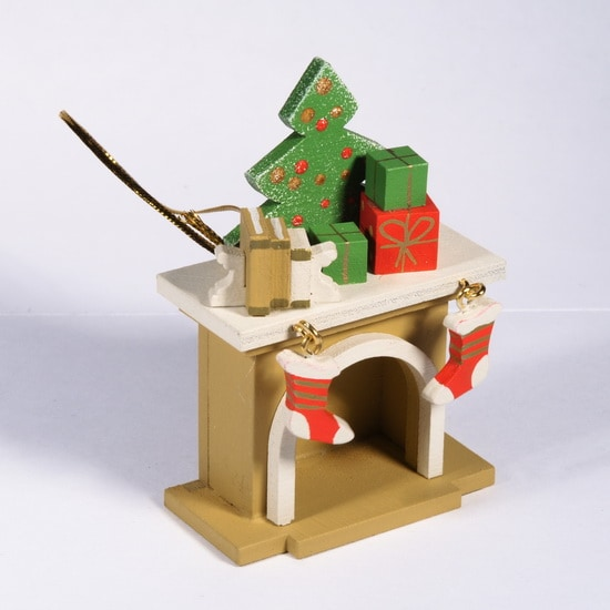 Елочная игрушка - Камин 290-3 K Tree