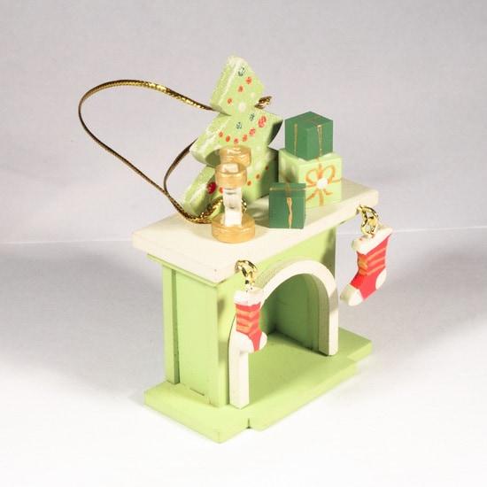 Елочная игрушка - Камин 90YY61_504 S Tree