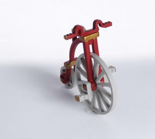 Елочная игрушка - Ретро Велосипед 3020 Classic