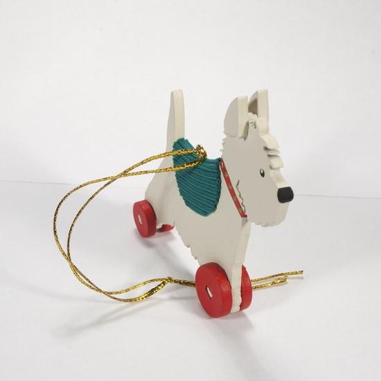 Елочные игрушки - Вестик 1013 Green Blanket