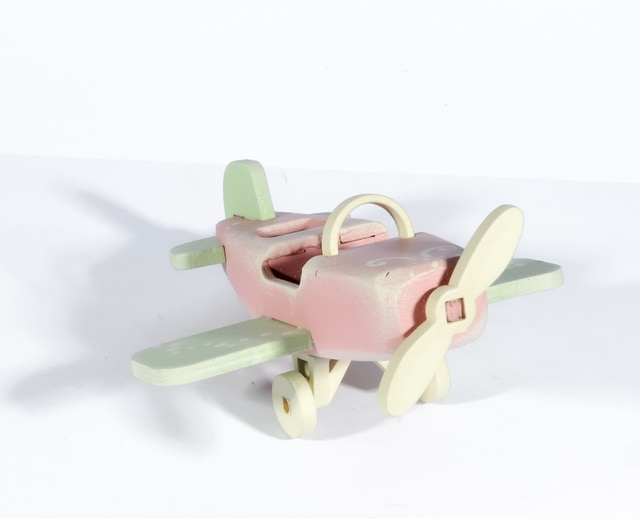 Новогодние украшения для дома: Самолет Моноплан 3015