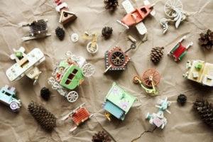 Деревянные елочные игрушки и сувениры ручной работы