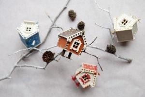Сувениры ручной работы из дерева, елочные игрушки
