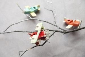 Елочные игрушки ручной работы из дерева, сувениры