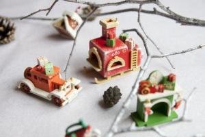 Елочная игрушка, корпоративный подарок ручной работы из дерева