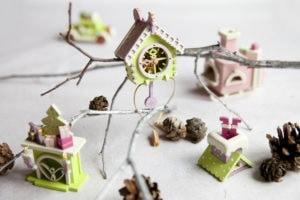Сувенир, елочная игрушка из дерева