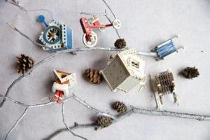 Елочные игрушки и сувениры