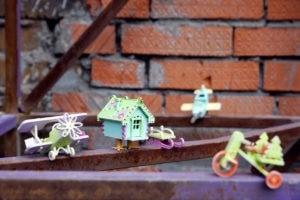 Деревянные елочные игрушки и сувениры из дерева