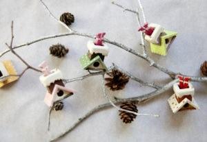 Деревянная елочная игрушка
