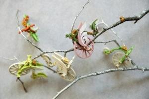 Ёлочная игрушка, сувенир из дерева