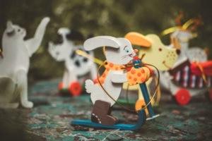 Елочные игрушки из дерева ручной работы