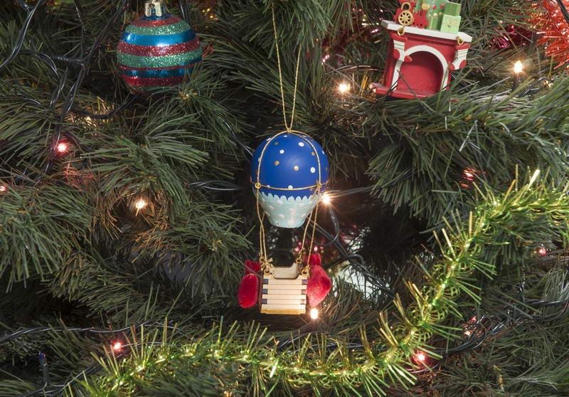 Воздушный елочный шарик 640-6