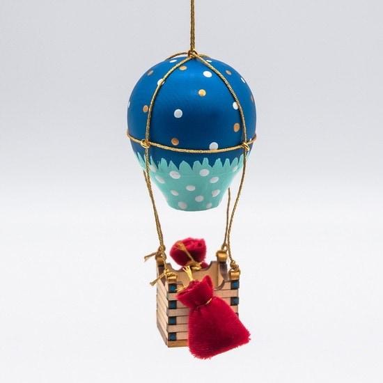 Новогодние украшения: Воздушный елочный шарик 640-6