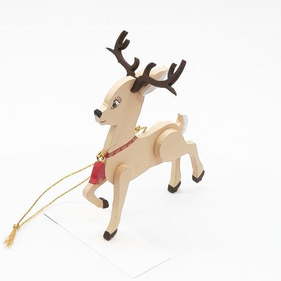Елочные игрушки: Олененок 310-2